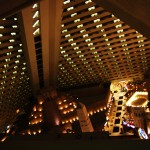 Inside the Luxor hotel Las Vegas
