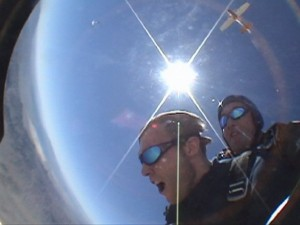 Skydiving in Las Vegas